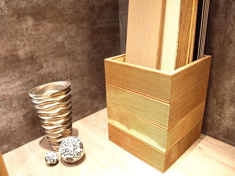 Rivestire parete in legno parete legno d quercia arctic xcm vero legno pannelli di decorazioni - Parete interna in legno ...
