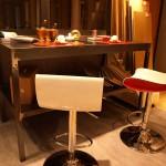 Pavimento e rivestimento in Pvc di color Cemento posato a secco, Realizzato da Linealegno Borgosatollo Brescia