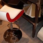 Particolare di pavimento in Pvc di color Cemento posato a secco, Realizzato da Linealegno Borgosatollo Brescia